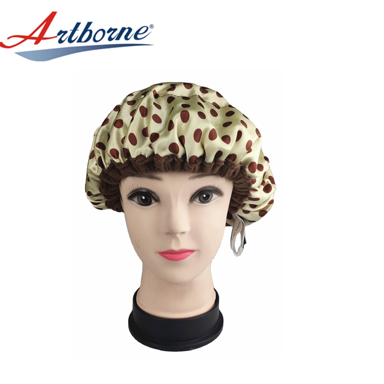 Artborne high-quality best shower cap for deep conditioning company for hair-1