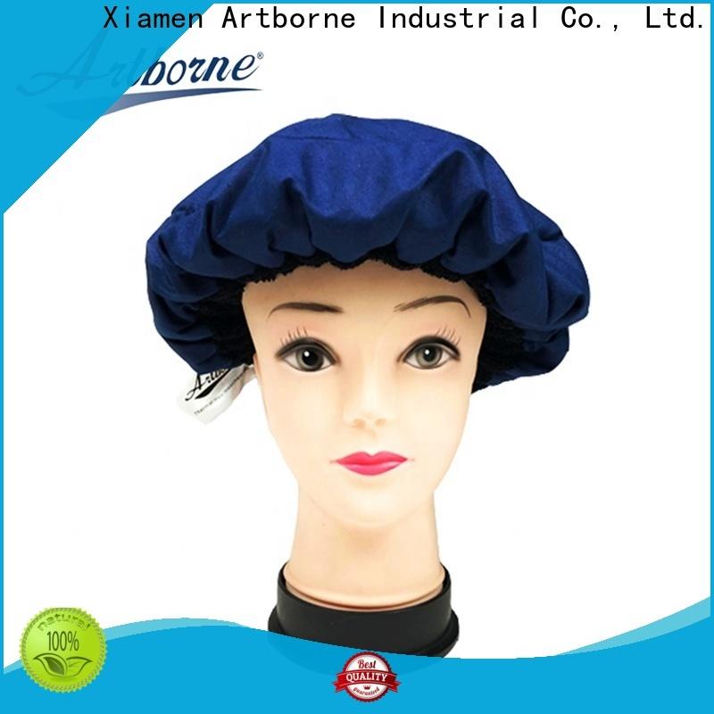 Artborne drying waterproof hair cap factory for home
