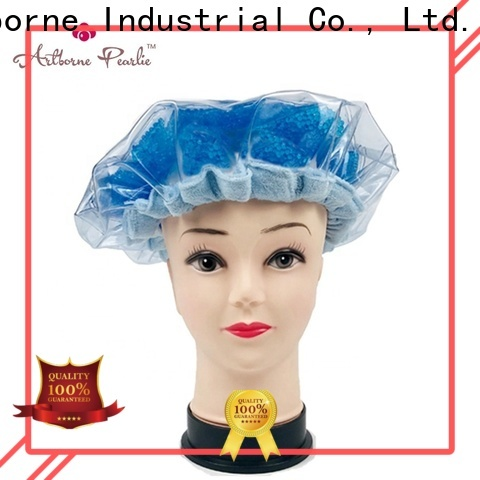 Artborne top microwave shower cap suppliers for women