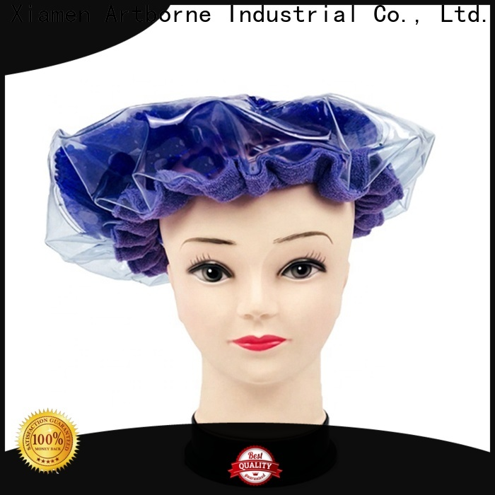 Artborne bead microwave heat cap for hair manufacturers for women