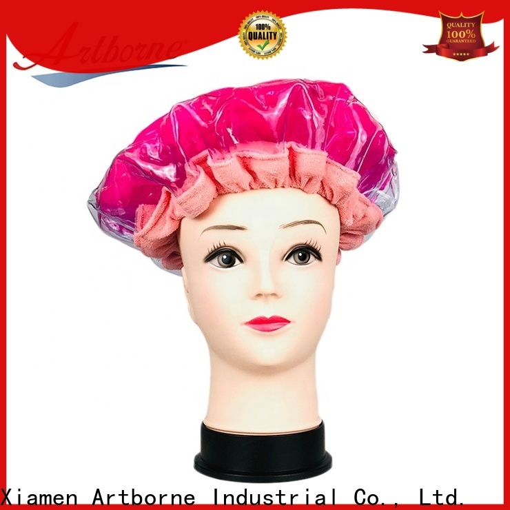 Artborne steaming hot conditioning heat cap company for women