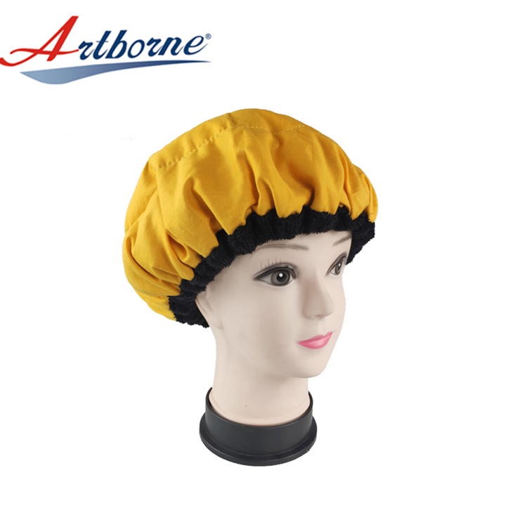 Deep Conditioning Heat Cap - Hair Styling and Treatment Steam Cap | Heat Therapy and Thermal Spa Hair Steamer Flaxseed Hair Cap