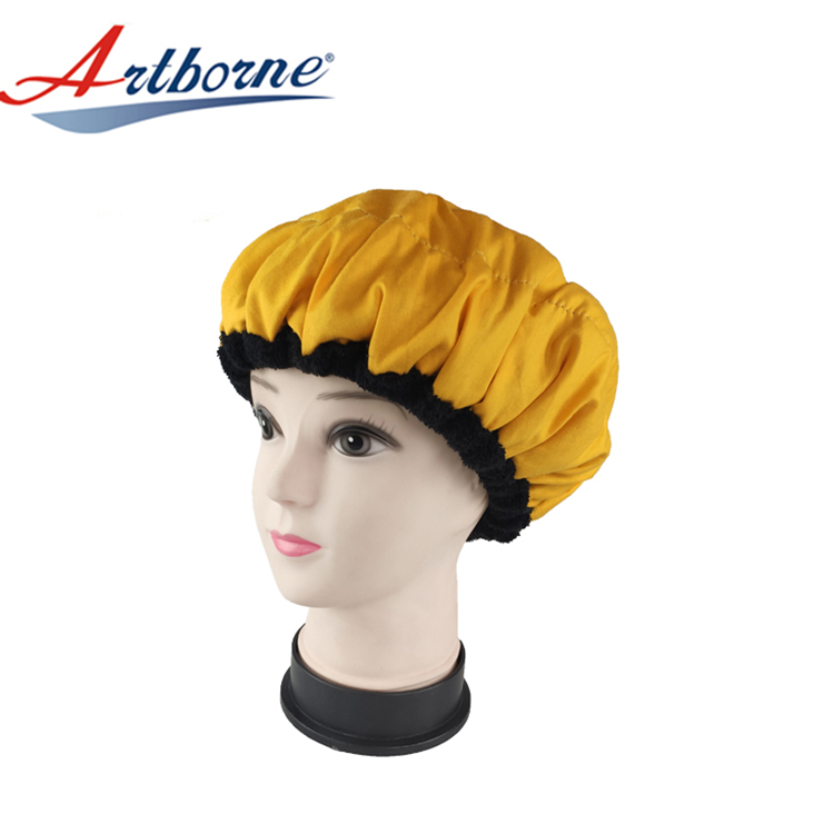 New microwavable heat cap steaming factory for hair-1