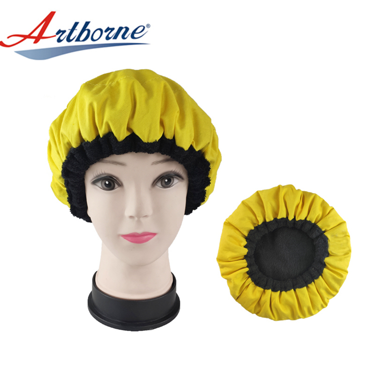 Heated Flaxseed Gel hat Disposable shower cap microwave Heat Cap Hair Treatment Heat Therapy Thermal Hair Steamer Bonnet Cap
