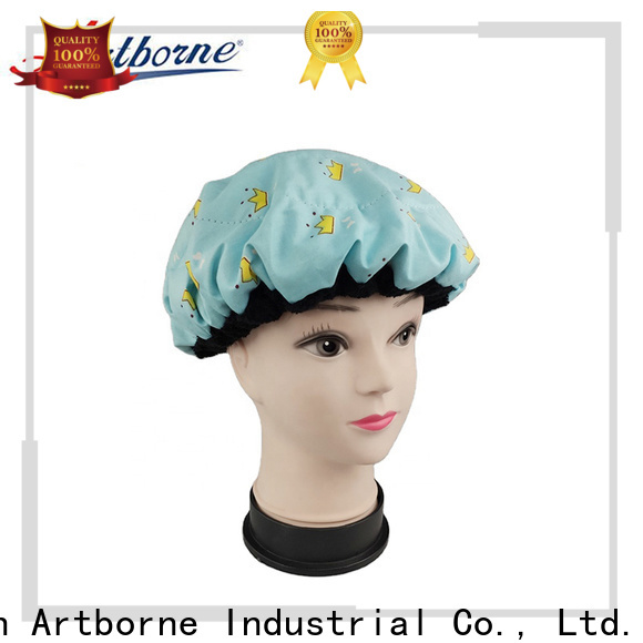Artborne latest waterproof hair cap manufacturers for home