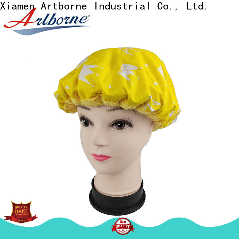 Artborne custom conditioning bonnet factory for hair