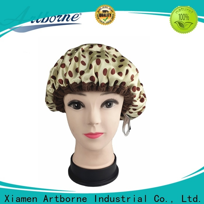 Artborne high-quality best shower cap for deep conditioning company for hair