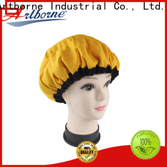 New microwavable heat cap steaming factory for hair