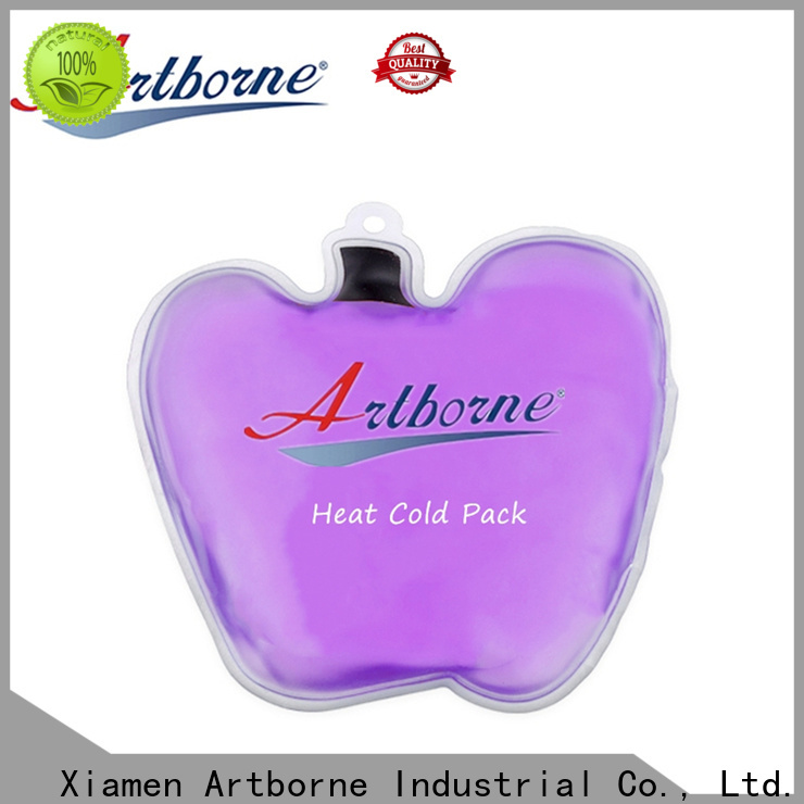 Artborne high-quality round reusable ice packs for business for shoulder pain