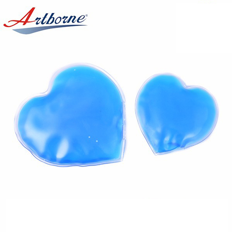 Sale Gel Heart Shape Lovely Hand Warmer Heat Pack ice pack gel pad Heart Gel Warm Heat Pad Shape Ice Hot And Cold Pack Heat Cold Pad Hand Warmer