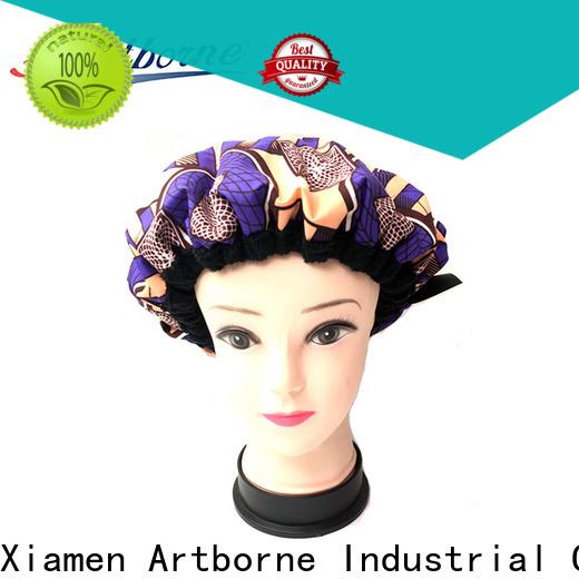 Artborne heat microwavable heat cap supply for home