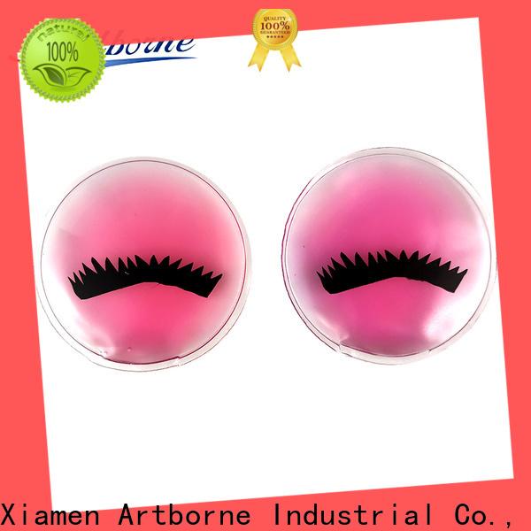 Artborne high-quality reusable gel eye pads company for women