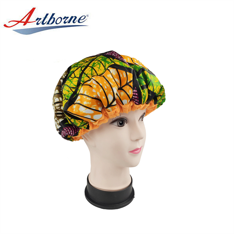 Home Use Reusable Cordless Gel Flaxseed Microwave Thermal Portable Condition Treatment Cap Heated Cap For Natural Hair Steaming