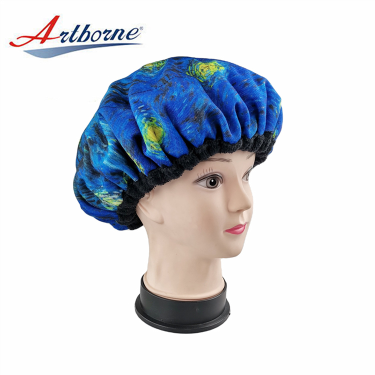 Artborne deep cordless conditioning heat cap factory for home-1
