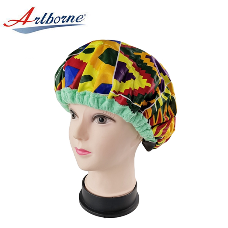 Artborne reusable hot head thermal hair cap suppliers for shower-2