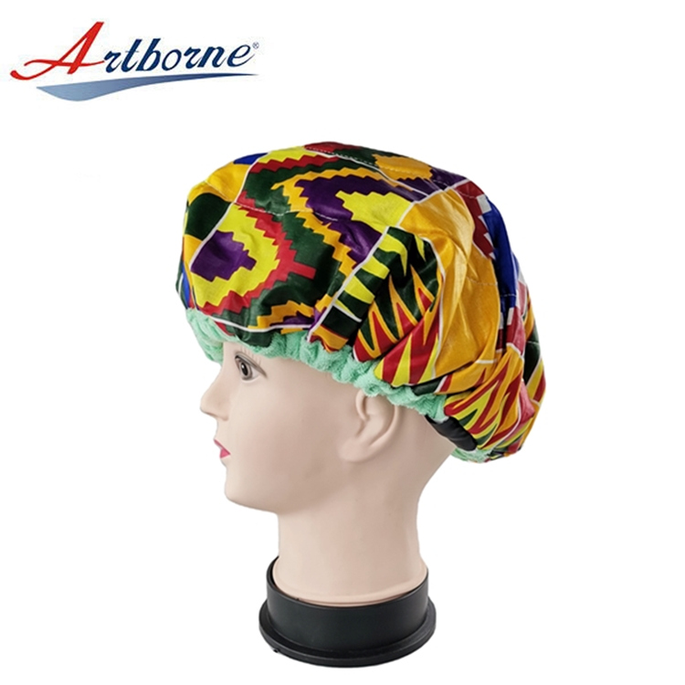 Artborne reusable hot head thermal hair cap suppliers for shower-1