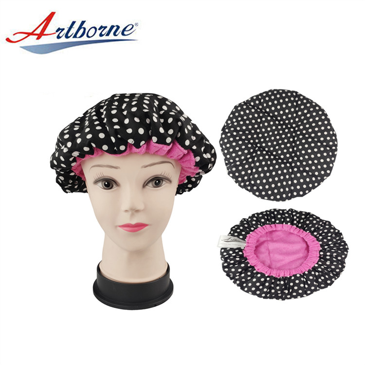 custom satin cap for curly hair curly supply for shower-2