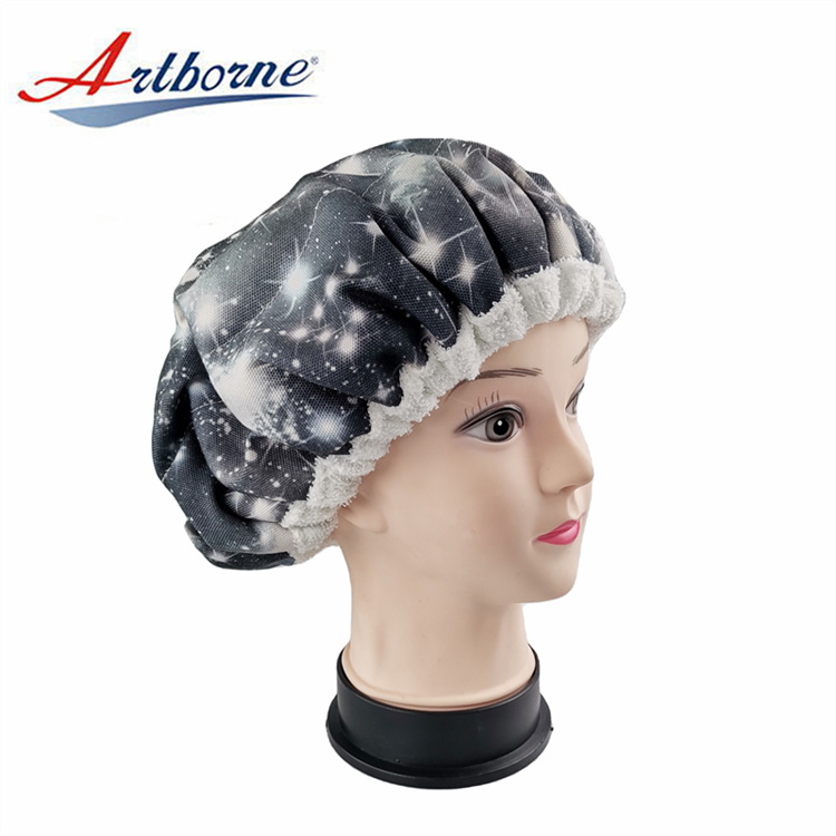 Natural flaxseed gel linseed microwavable heat Thermal Cordless Deep Conditioning Heat Linseed Capsalon hair care cap bonnet cap