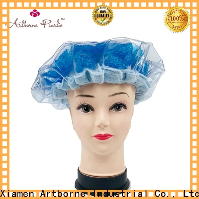 Artborne wholesale microwave shower cap manufacturers for hair
