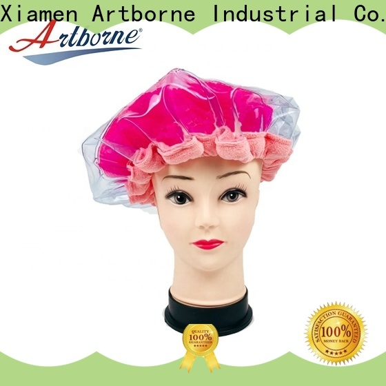 Artborne wholesale microwave hair conditioning cap for business for hair