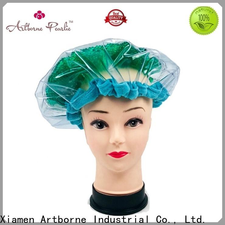 Artborne steam hot head deep conditioning cap company for women