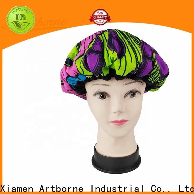 Artborne custom heat treat hair cap factory for shower