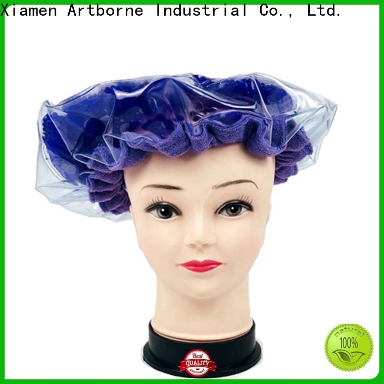 Artborne steaming dry hair cap manufacturers for home
