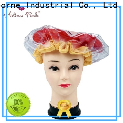 Artborne top microwave hair conditioning cap manufacturers for lady