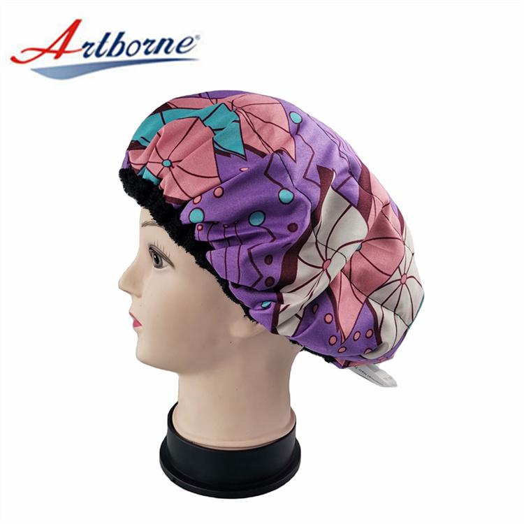 Artborne custom silk hair cap supply for shower-2