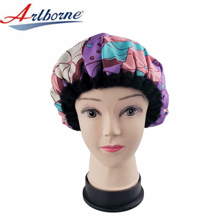 Artborne custom silk hair cap supply for shower-1