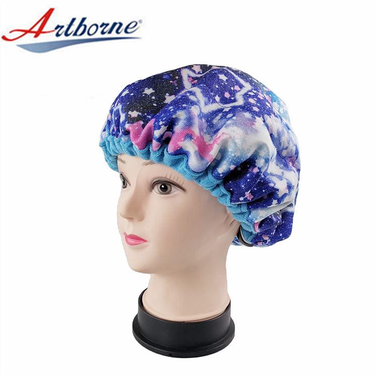 Artborne steam thermal hot head deep conditioning cap manufacturers for home-1