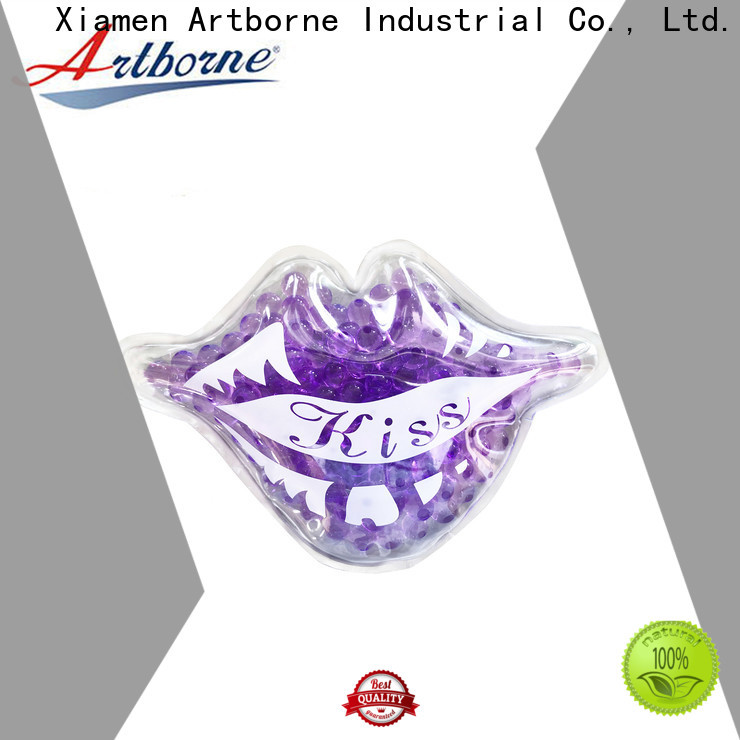 Artborne custom small reusable ice packs company for face