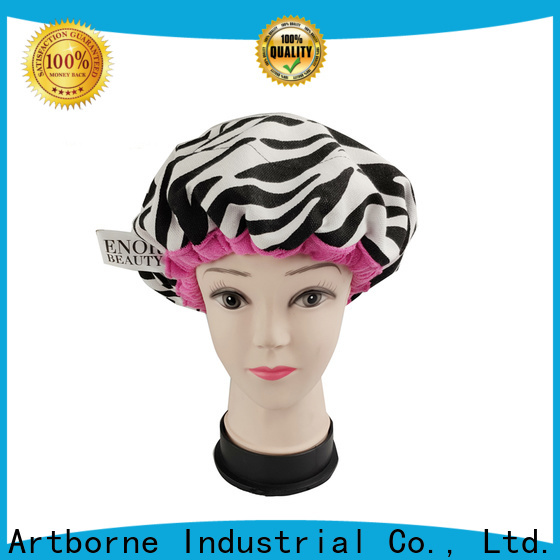 Artborne custom conditioning caps heat treatment company for shower