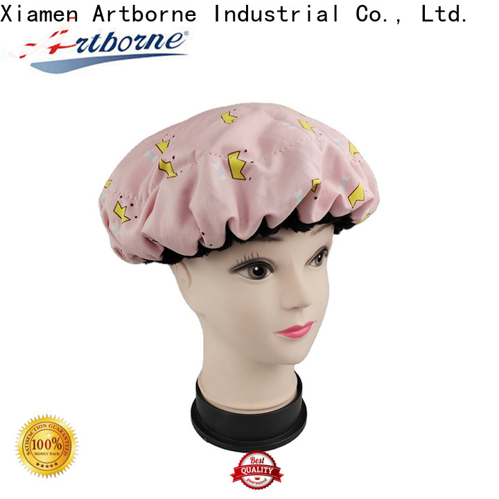 Artborne microwavable cordless deep conditioning cap factory for lady