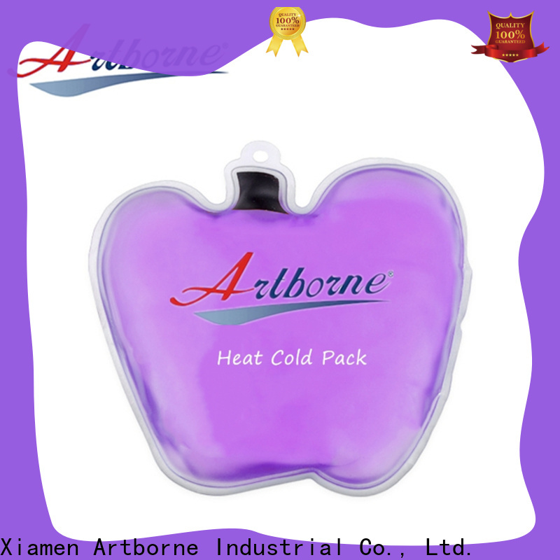 Artborne outdoor round reusable ice packs company for muscle strain