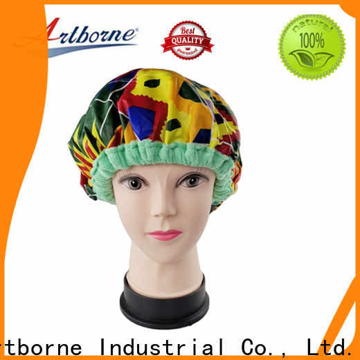 Artborne reusable hot head thermal hair cap suppliers for shower
