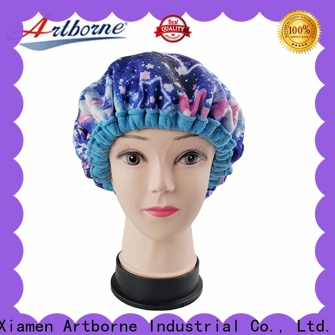 Artborne steam thermal hot head deep conditioning cap manufacturers for home