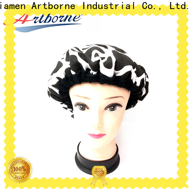 Artborne New microwavable heat cap supply for hair