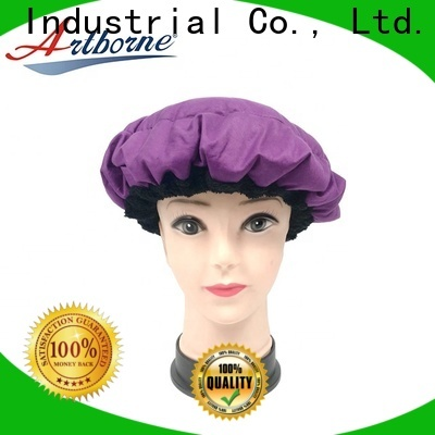 Artborne wholesale waterproof hair cap for business for home