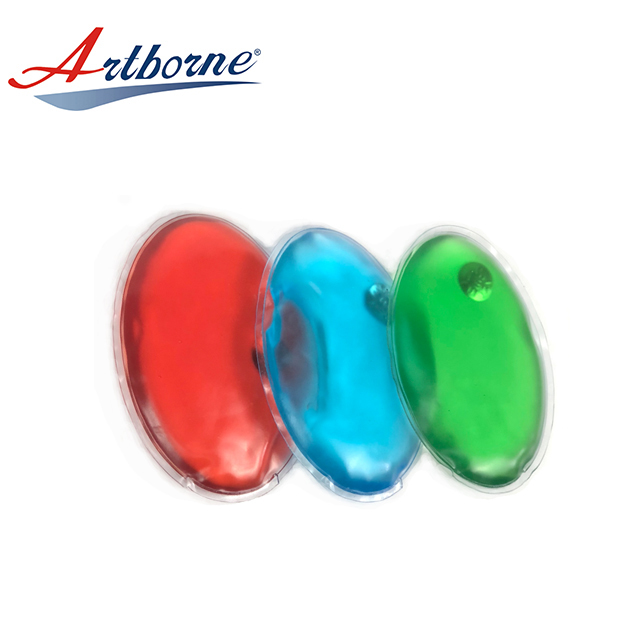 Artborne Instant Click Heat Cold Packs Hand Warmer Heating Pack Oval Shape Ice Gel Pack for Pain Relief