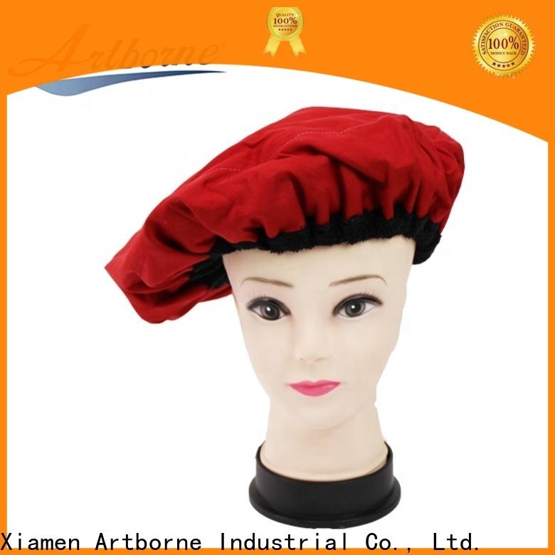 Artborne thermal ladies shower cap supply for shower