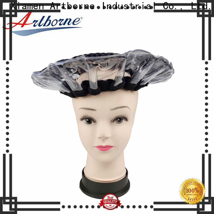 Artborne heat heating cap for hair conditioning company for home