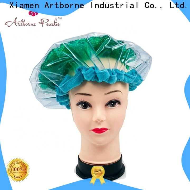 Artborne high-quality microwavable deep conditioning heat cap for business for women