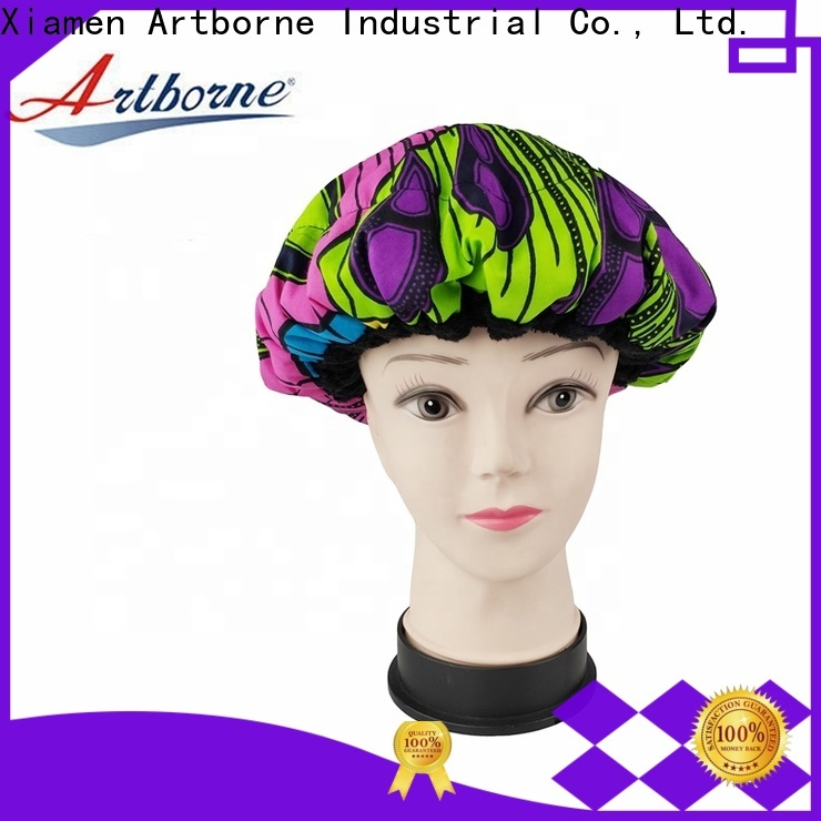 Artborne textured thermal cap for hair treatment and deep conditioning for business for home