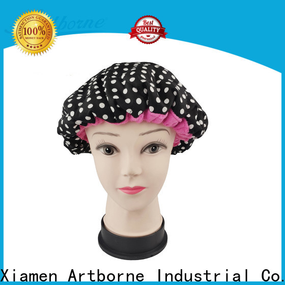 Artborne New thermal cap for hair treatment and deep conditioning supply for shower