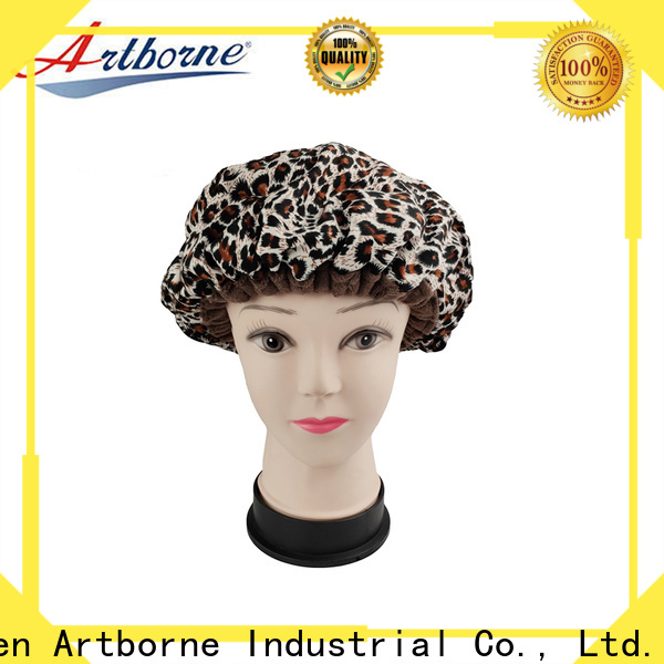 Artborne steam thermal heat cap for conditioning treatments factory for women
