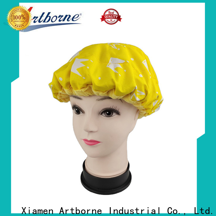 Artborne reusable thermal conditioning heat cap company for shower