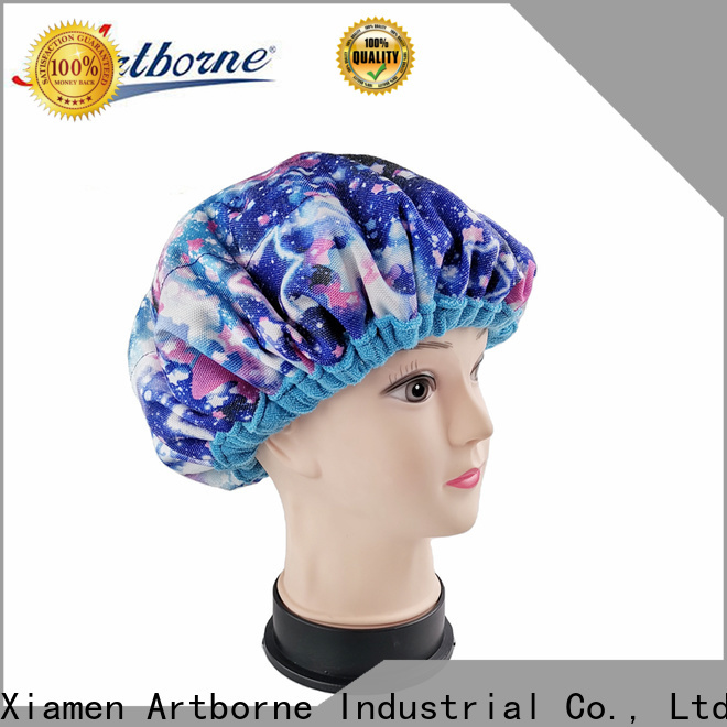Artborne thermal shower cap for women supply for shower