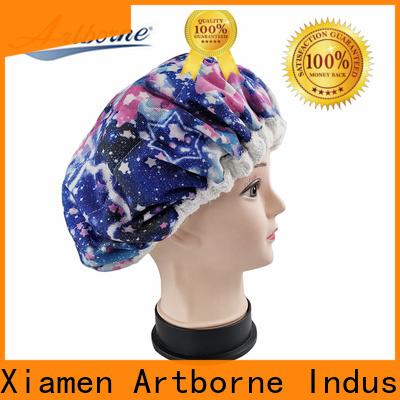 Artborne heat hot head thermal hair cap company for lady