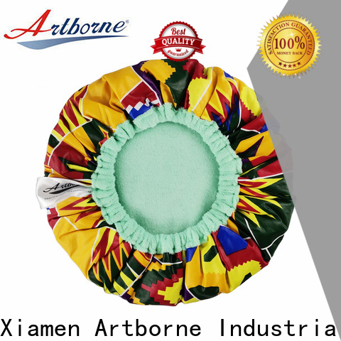 Artborne cap waterproof shower cap manufacturers for shower